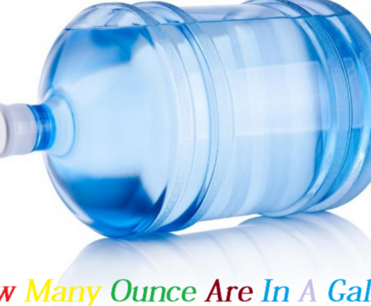 how many ounces in a gallon