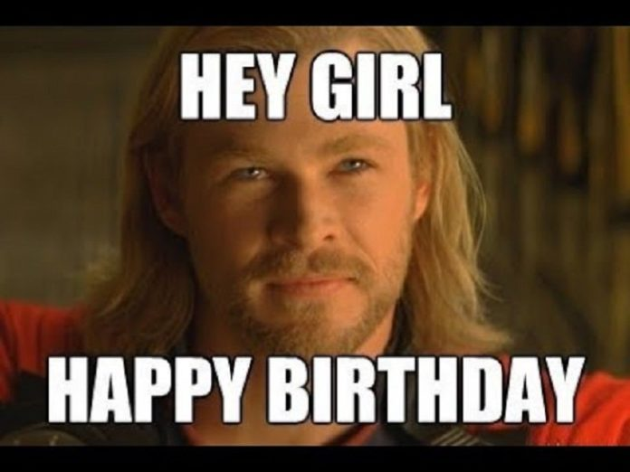 Happy Birthday Memes For Her
